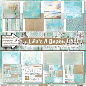 Bee Arty - Life's A Beach 12X12 Collection