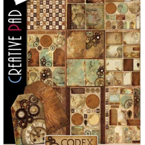 Ciao Bella A4 Creative Pad - Codex Leonardo Collection