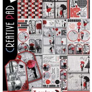 Ciao Bella A4 Creative Pad - Loving in the Rain