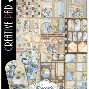Ciao Bella A4 Creative Pad - Broccato Estense Collection