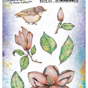 PaperArtsy Stamp Set - EGL05 by Gwen Lafleur