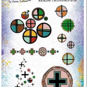 PaperArtsy Stamp Set - EGL06 by Gwen Lafleur
