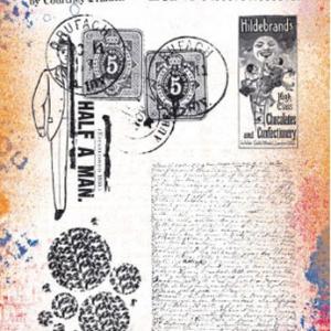 PaperArtsy Stamp Set - ECF09 by Courtney Franich