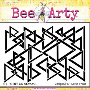 Bee Arty 365 Collection - On Point A5 Stencil