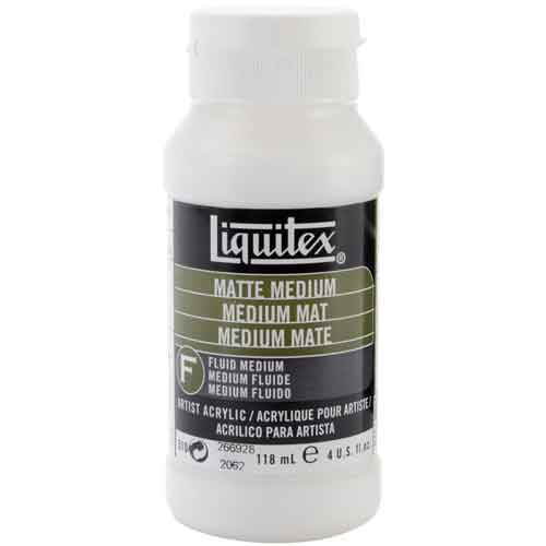 Liquitex Matt Medium 4 ozs