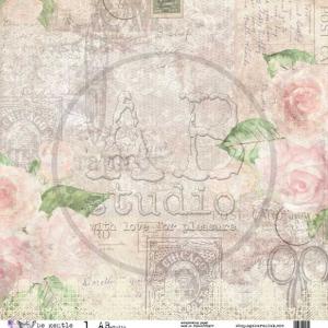 AB Studio 12x12 Paper - Be Gentle 1/2