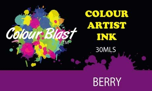Colour Blast Artist Ink - Berry