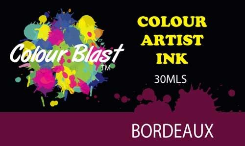 Colour Blast Artist Ink - Bordeaux