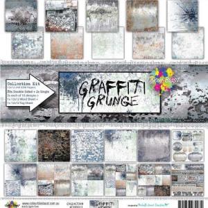 Colour Blast Graffiti Grunge 12x12 Collection