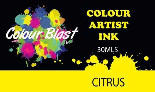 Colour Blast Artist Ink - Citrus