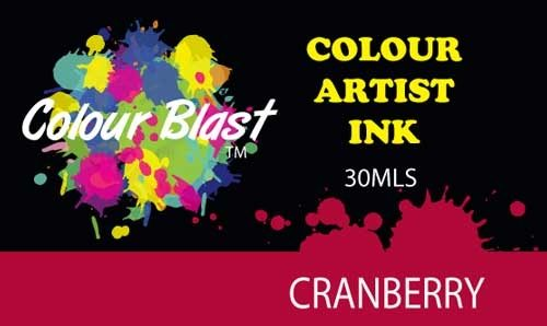 Colour Blast Artist Ink -  Cranberry