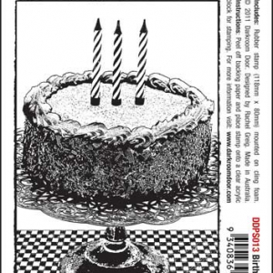 Darkroom Door Photo Stamp - Birthday Cake
