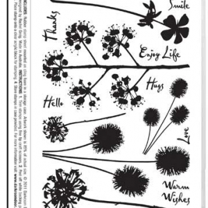 Darkroom Door Stamp Set - Bold Blossoms