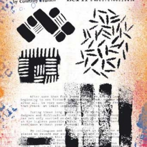 PaperArtsy Stamp Set - ECF11 by Courtney Franich