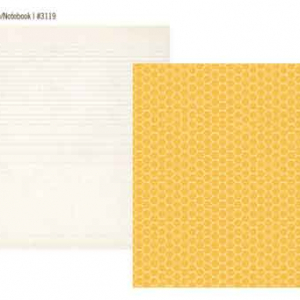 """Yellow Honeycomb / Notepaper"""