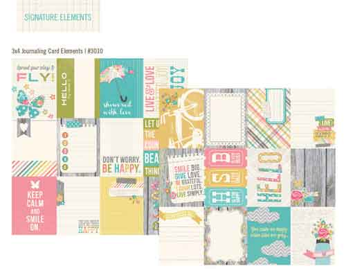 Vintage Bliss 3x4 Journalling Cards
