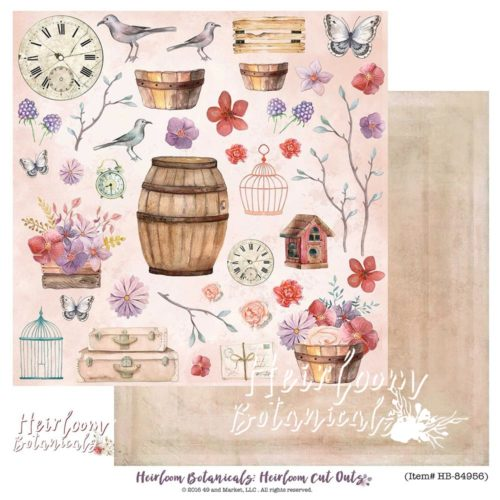 49 and Market - Heirloom Botanicals Cutouts