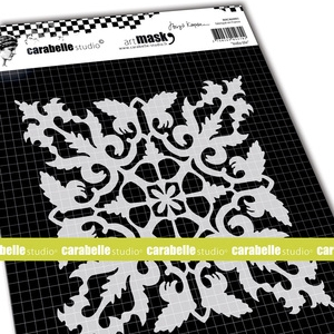 """Carabelle Studio 6 """"Square Mask - Indian Tile y Birgit Koopsen"""