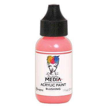 Dina Wakely Media Acrylic Paint - Blushing 29ml