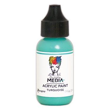 Dina Wakely Media Acrylic Paint  - Turquoise 29ml