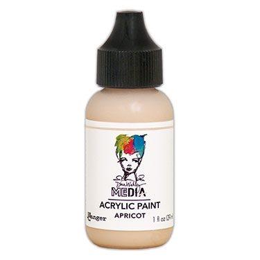 Dina Wakely Media Acrylic Paint - Apricot 29ml
