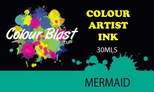 Colour Blast Artist Ink - Mermaid
