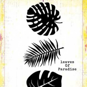 Bee Arty Tropical Leaves Metal Die - Find Paradise Collection
