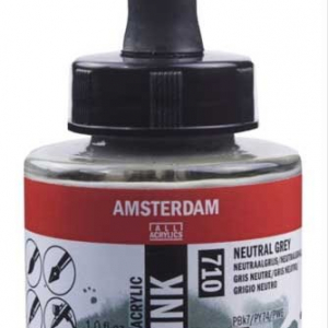 Amsterdam Neutral Grey 710 Acrylic Ink