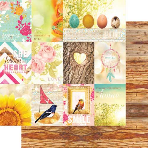 Webster's Pages - Home With You 12x12 - Nest Paper Collection