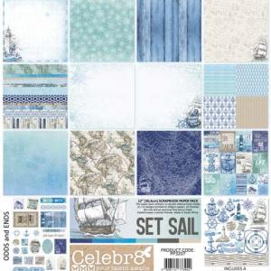 Celebr8 Let Your Dreams Set Sail 12x12 Scrapbook Pack