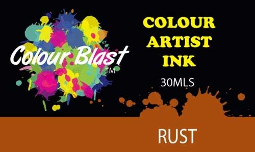 Colour Blast Artist Ink - Rust