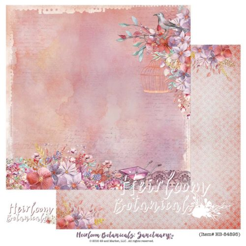 49 and Market - Sanctuary 12X12 Cardstock