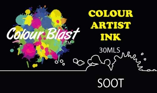 Colour Blast Artist Ink - Soot
