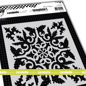 "Carabelle Studio 6""Square Stencil - India Tile by B Koopsen"