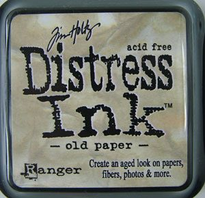 Distress Ink Pad Old Paper