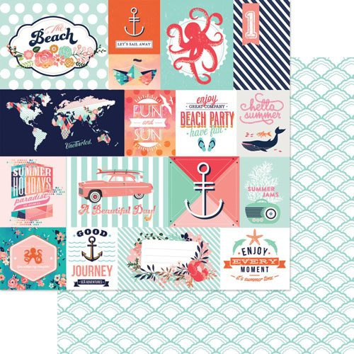 Webster's Pages Summer Fun 12X12 Cardstock
