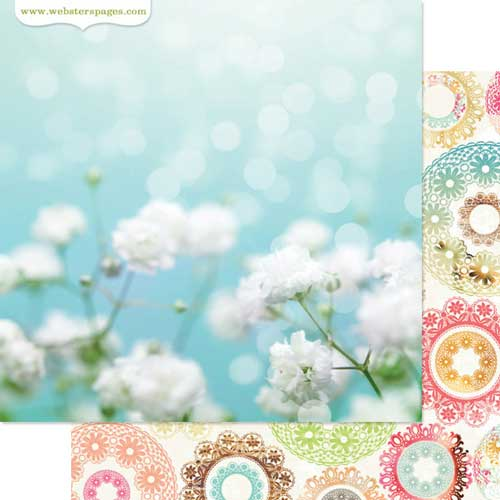 Webster's Pages Life's Fabric Cardstock - Nest Collection