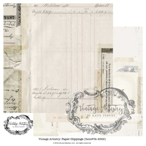 49 and Market - Paper Clippings 12x12 Cardstock