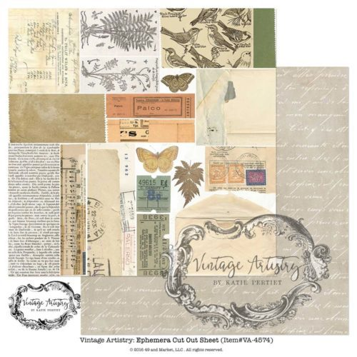49 and Market - Vintage Artistry Ephemera Cut Out Sheet