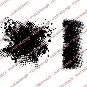 Visible Image - Edgy Background Stamp Set