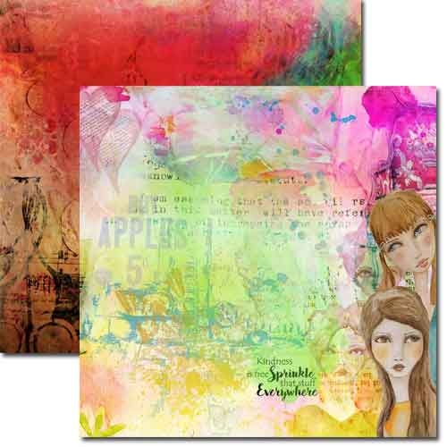 Whimsical 2 - 12 x 12 Double Sided Paper